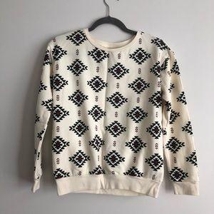 Brand new w/o tags, printed sweatshirt